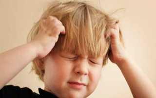 Рвота у ребенка после падения
