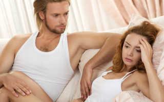 После секса болит промежность