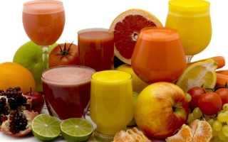 Свежевыжатый сок для кишечника