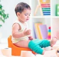Понос зеленой водой у ребенка
