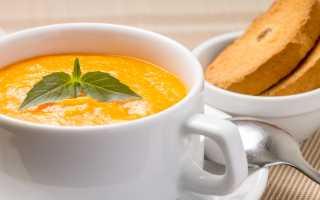 Суп пюре для больного желудка