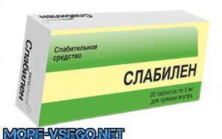 Таблетки для запора взрослым