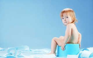 Почему у ребенка белый понос