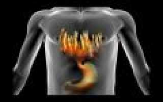 Ощущения при гастрите желудка
