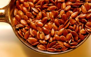 Семя льна для лечения желудка