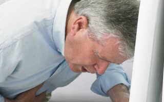 Рвота желчью при панкреатите