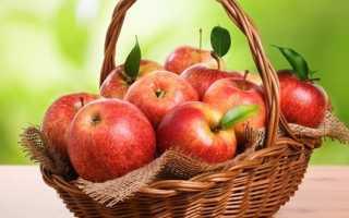 При поносе запеченные яблоки