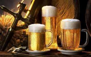 После пива понос и болит живот