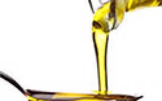 Растительное масло при изжоге