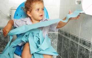 У ребенка сухой кашель понос