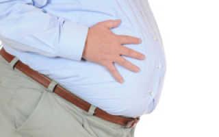 Скопление жидкости в кишечнике