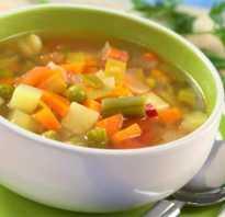 Суп пюре при гастрите рецепт