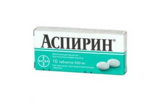 Что будет если выпить аспирин