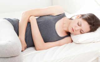 Спазм кишечника при месячных