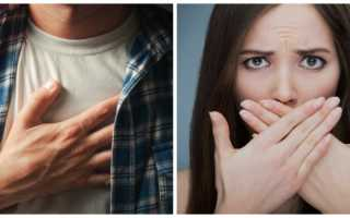 Проблемы с пищеводом признаки