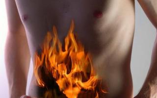 Что делать если горит желудок