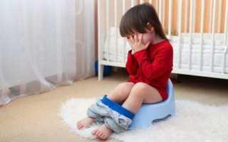 Ребенок при поносе мало мочится