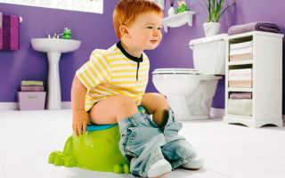Понос зеленый стул у ребенка