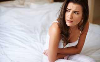 После секса спазмы в кишечнике