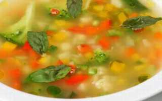 Супы при обострении панкреатита